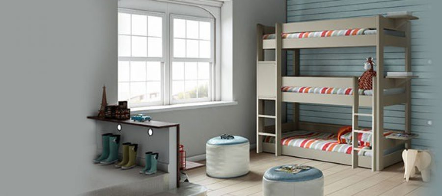 Kids Triple Bunk Beds