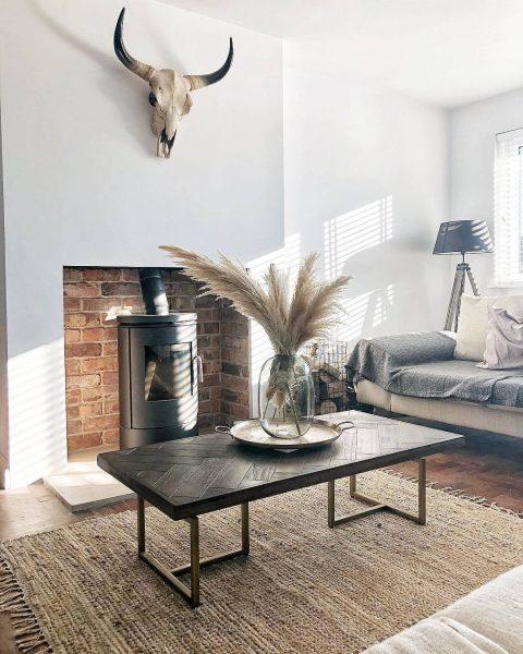 Dutchbone Class Coffee Table in Neutral Living Room
