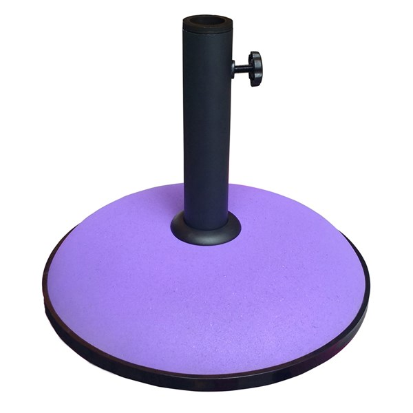 15kg Concrete Garden Umbrella Parasol Base in Purple