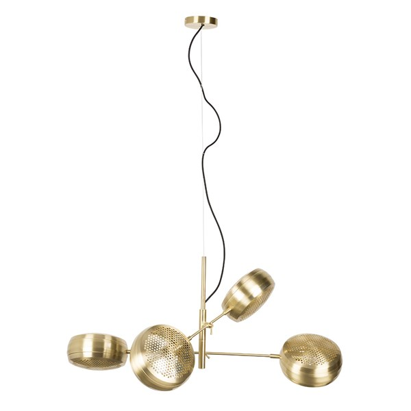 Zuiver Gringo Multi Pendant Light in Brass