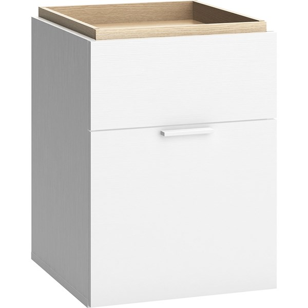 Vox 4 You 2 Drawer Bedside Table