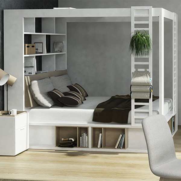 Vox 4you 4 Poster King Bed With Storage