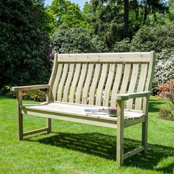 Alexander Rose Pine Farmers Bench