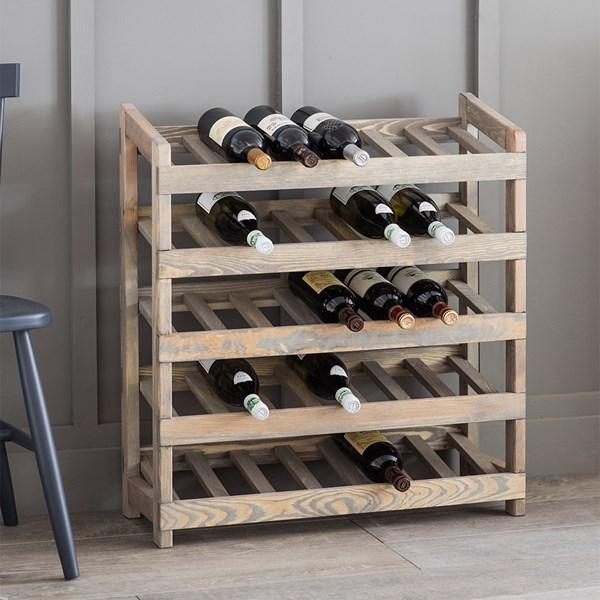 Garden Trading Aldsworth Wooden Wine Rack