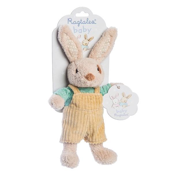 Alfie Rabbit Baby Rattle Soft Toy