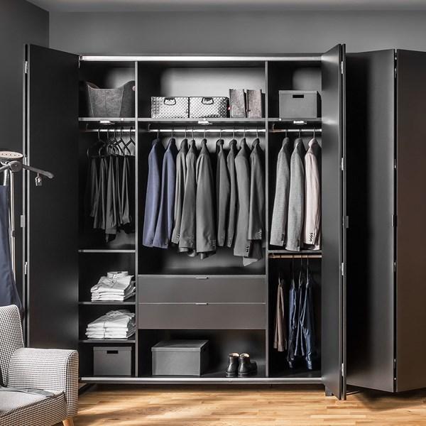 Vox Simple 4 Door Wardrobe