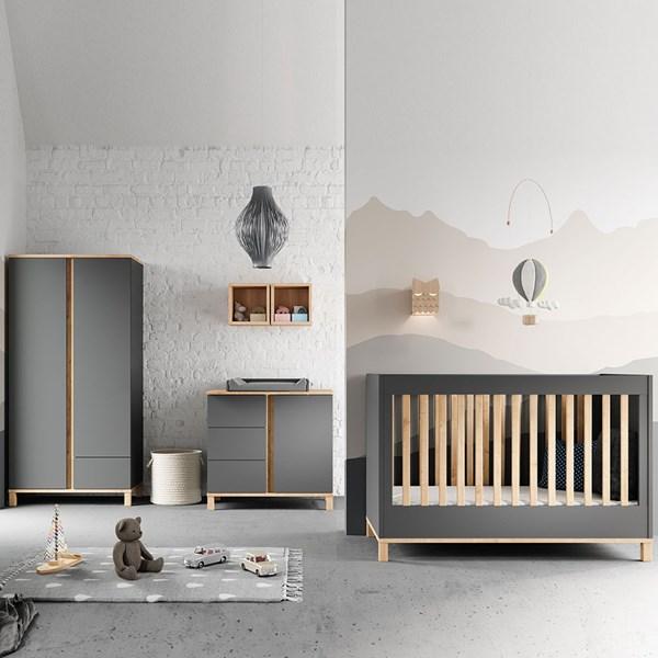 Vox Altitude Cot 3 Piece Nursery Furniture Set