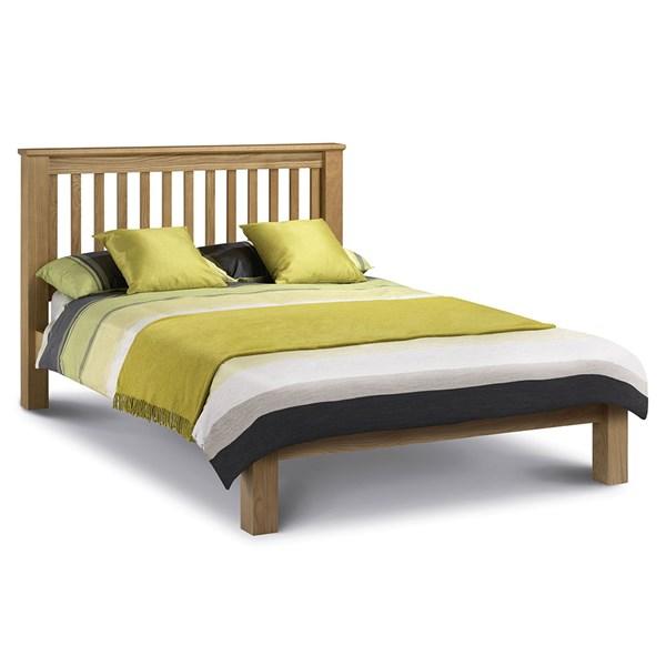 Amsterdam Bed Frame in Oak by Julian Bowen
