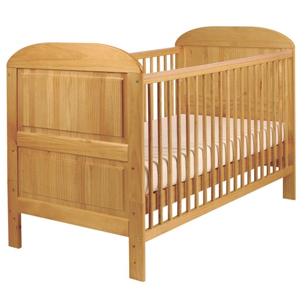 East Coast Angelina Baby and Toddler Cot Bed in Antique Pine