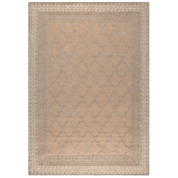Dutchbone Handwoven Kasba Rug in Beige