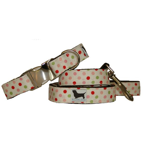 BETTE Large Dog Collar with Matching Lead