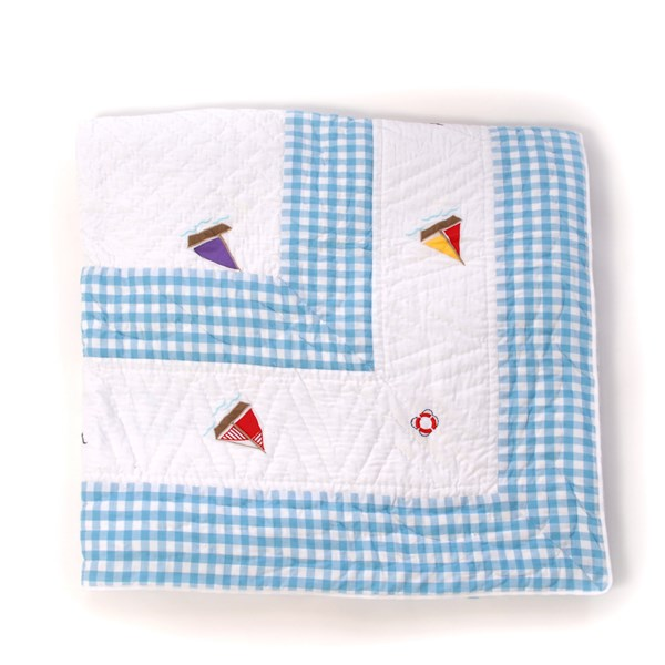 BOAT HOUSE Bed Quilt