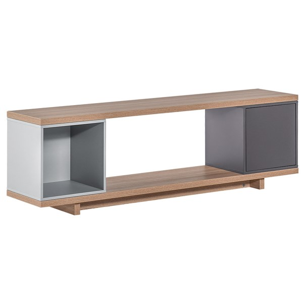 Vox Balance TV Cabinet in Grey & Oak Effect