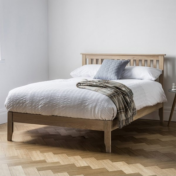 Banbury Solid Oak Bed Frame by Frank Hudson
