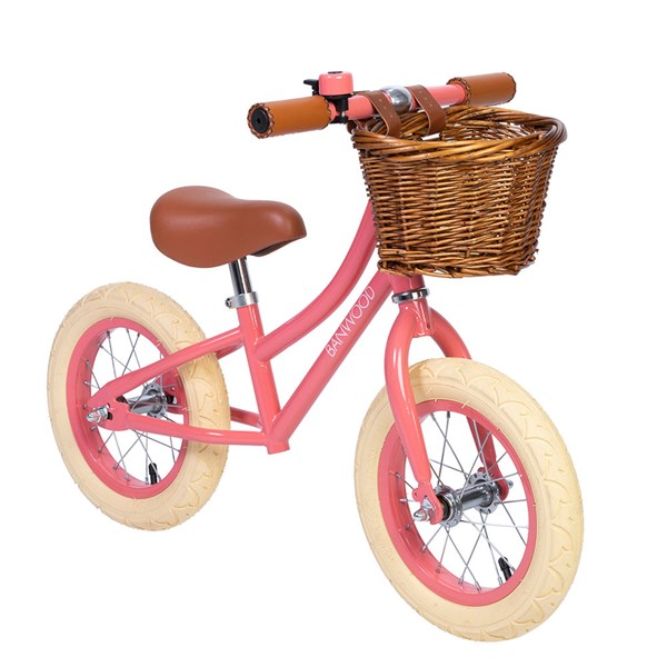 Banwood First Go! Balance Bike in Coral