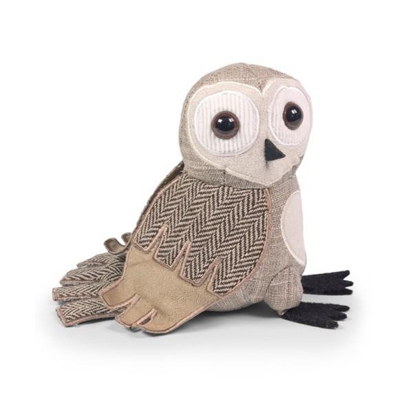 Barn Owl Junior Paperweight. Dora Design Paperweights at Cuckooland
