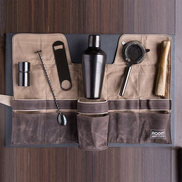 Bartenders Cocktail Bag and Tool Set