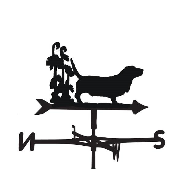 Bassett Dog Weathervane