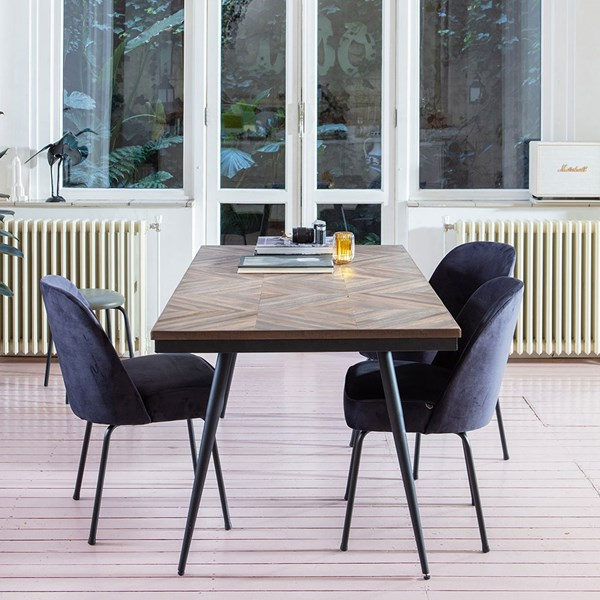 Rhombic Dining Table by BePureHome