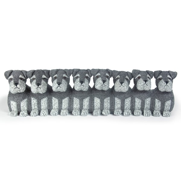 Bears Dog Family Animal Draught Excluder from Dora Designs