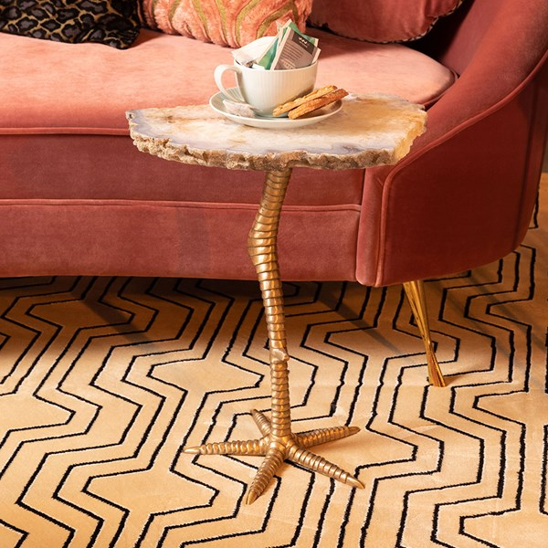 Weird Living Room Table in a Bird Leg Design