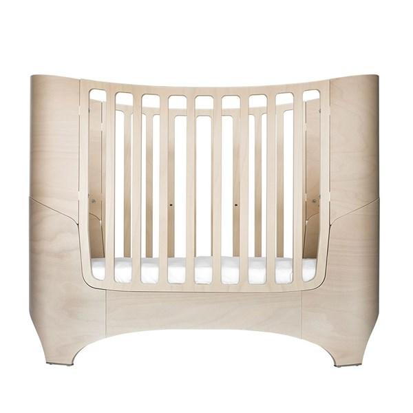Whitewash Wooden Newborn Cot Bed