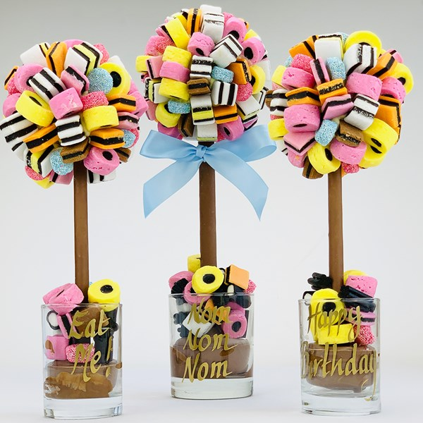 Personalised Liqourice Allsorts Chocolate Sweet Tree