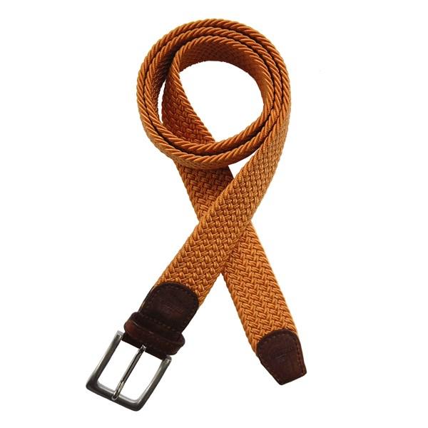 knitted orange belt