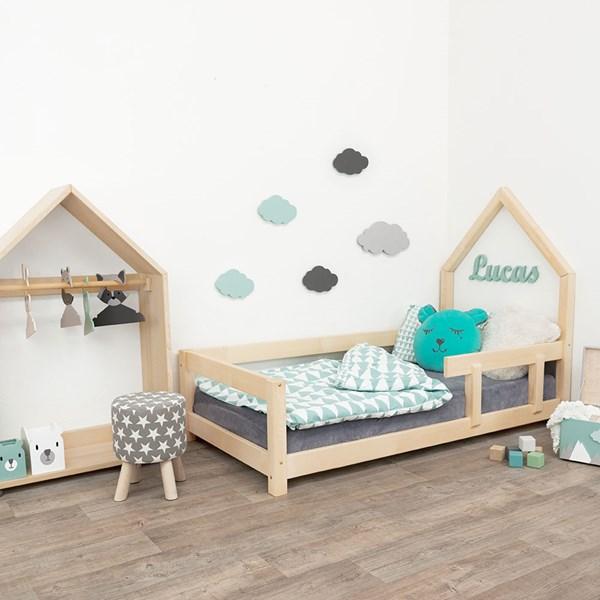 Benlemi Poppi Single Bed with Guard Rail