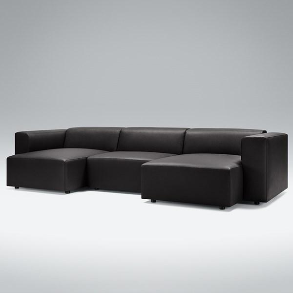 Lovi Furniture Berry Set 02 U Shaped Leather Sofa