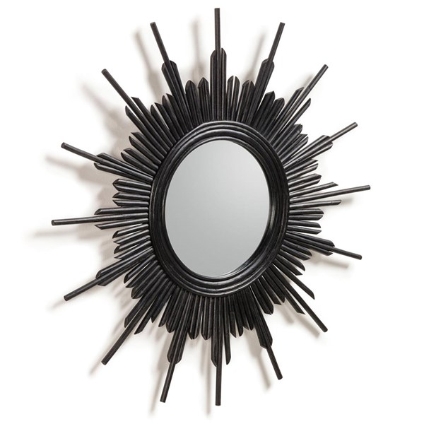 Marelli Black Wall Mirror