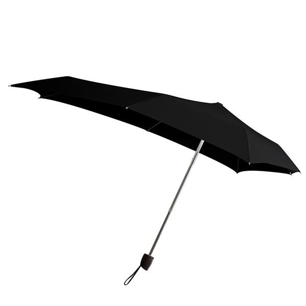 Senz Smart S Luxury Windproof Umbrella in Black