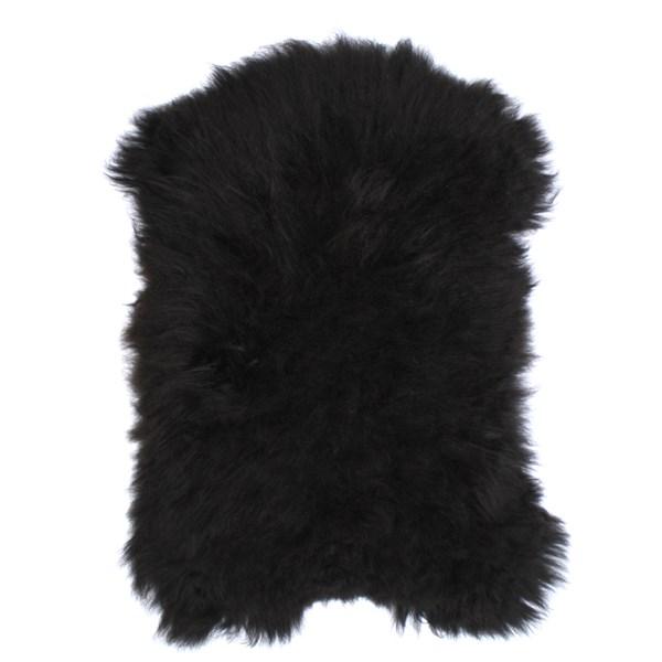 Icelandic Sheepskin Rug in Black