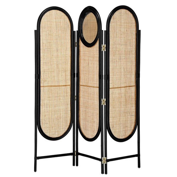 Lalita Room Divider with Mirror