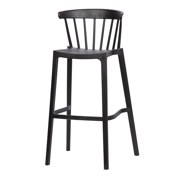 Woood Pair of Bliss Outdoor Bar Stools