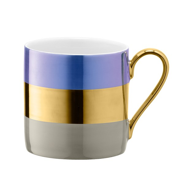 LSA International Bangle Mug in Blueberry