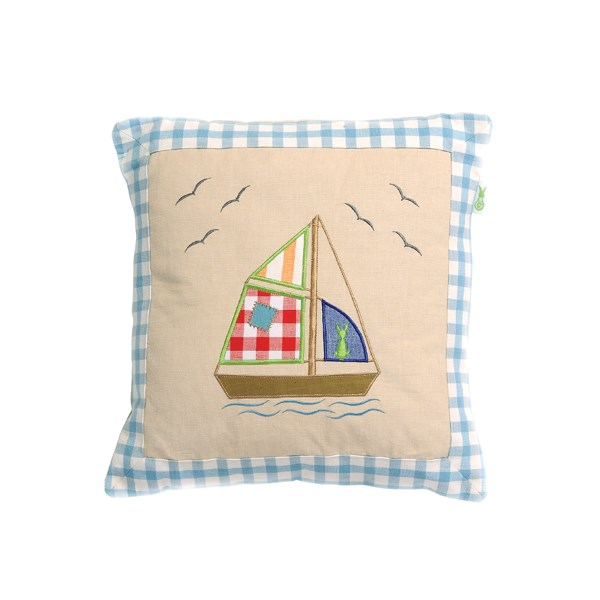 Boat House Cushion by Win Green