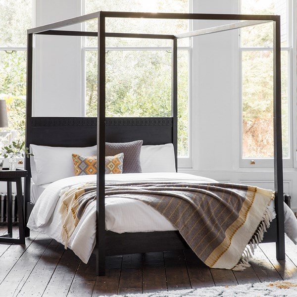 Beatnik Four Poster Bed