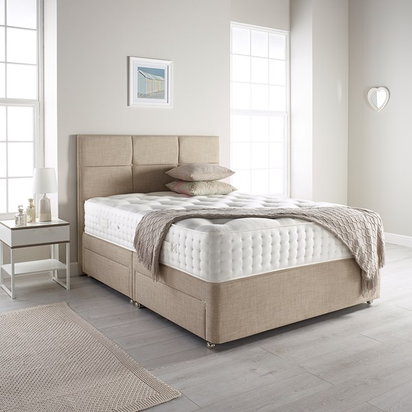 Relyon Bordeaux Mattress and Sprung Edge Divan Set