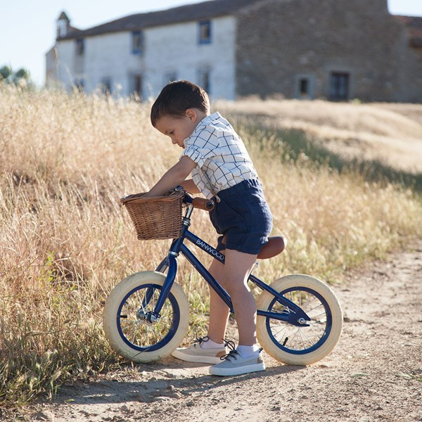 Banwood First Go! Balance Bike in Navy Blue
