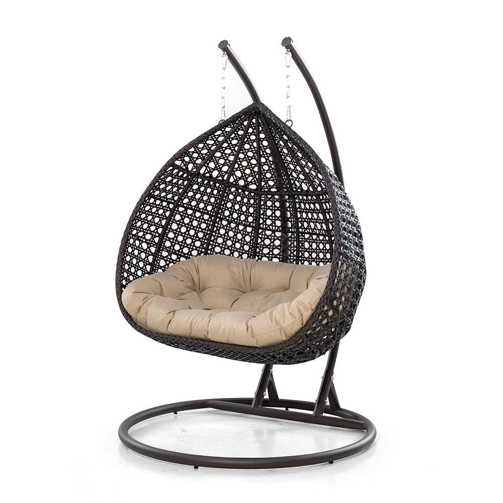 Maze Rattan Rose Outdoor Hanging Chair Maze Rattan Cuckooland