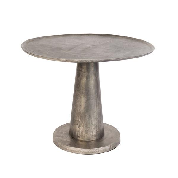Dutchbone Brute Side Table in Nickel