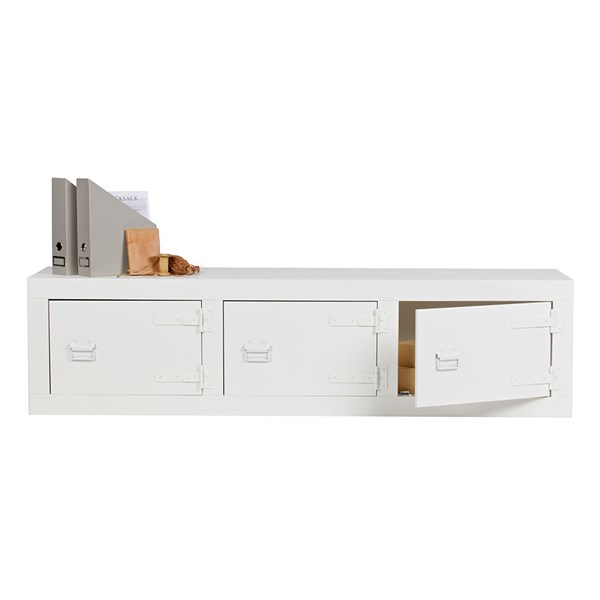 Bunk White Pine Storage Bench by Woood