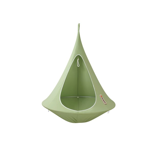 Single Hanging Cacoon in green