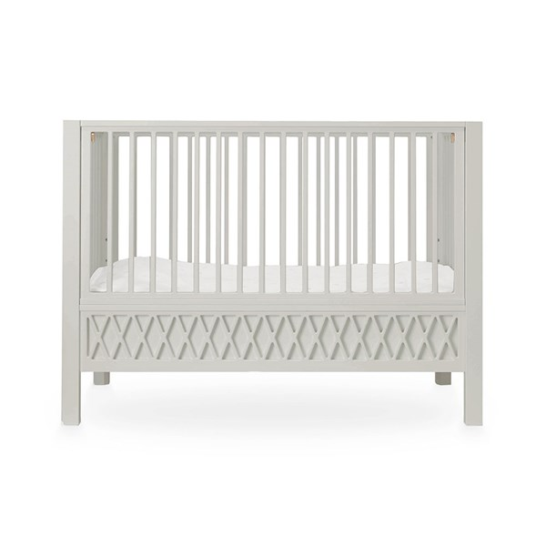 Cam Cam Copenhagen Harlequin Cot Bed in Light Sand