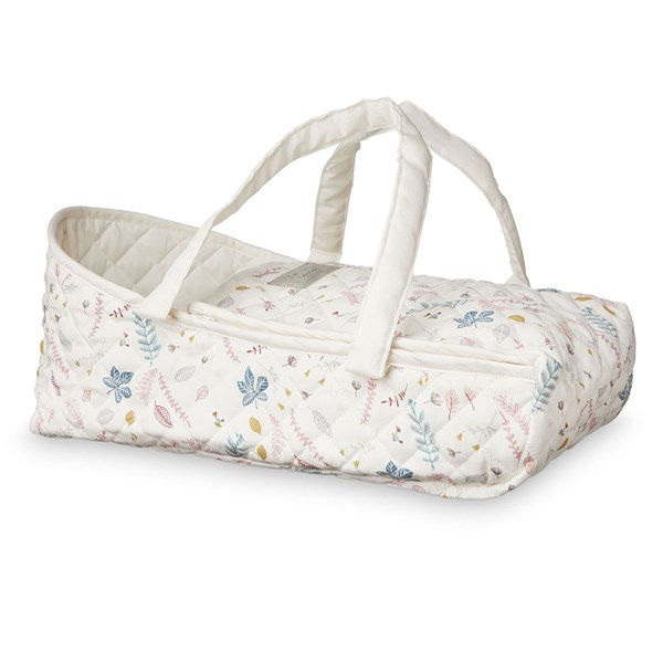 Cam Cam Copenhagen Doll Carry Cot in Pressed Leaves Rose