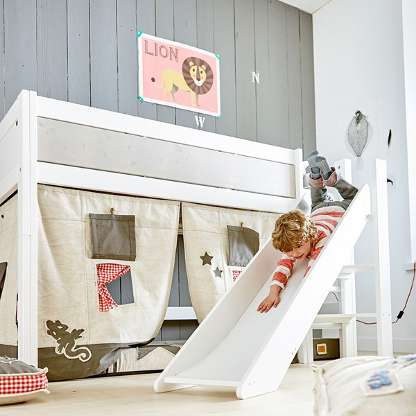 Kids Camp Canyon Mid-Sleeper Bed