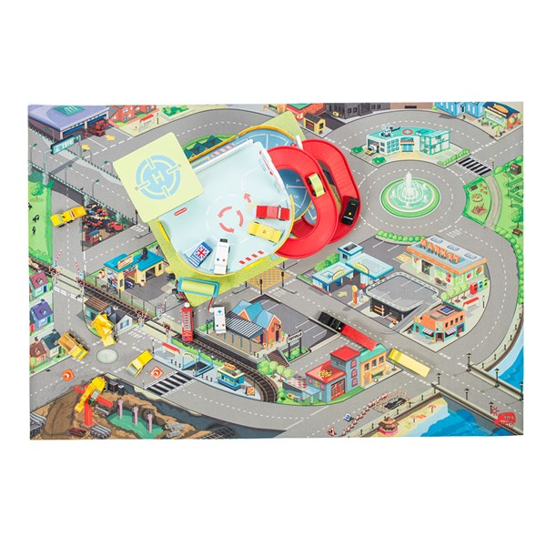 Le Toy Van Giant Town Road Playmat 100cm x 150cm