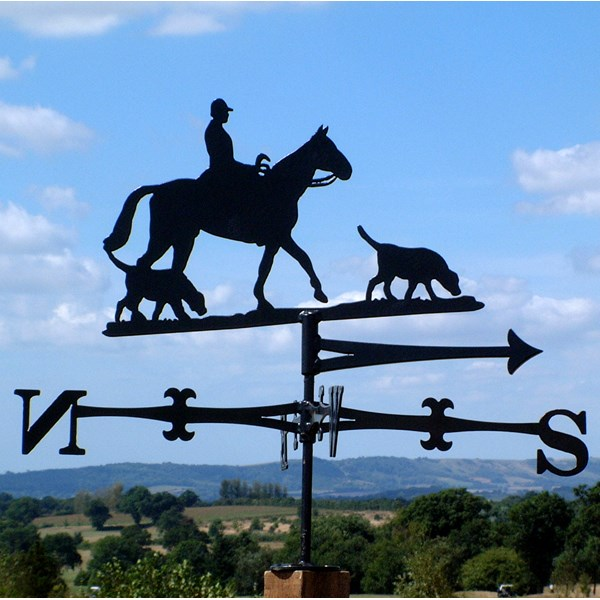HUNTING CHARLIE HUNTING THEMED WEATHER VANE