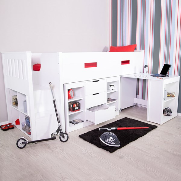 Charlie Mid Sleeper Kids Bed